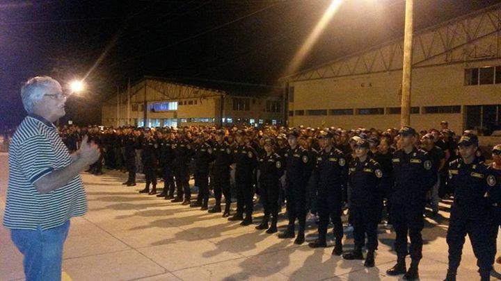 Academia de Policias en Honduras 2015
