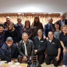 """Agasajo en Casa Bautista a pastores y líderes de No Más Violencia """"Un Mensaje de Dios"""""""