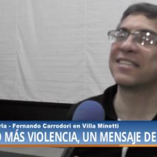Canal 2 de Santa Fe, Argentina habla sobre la charla de No Más Violencia